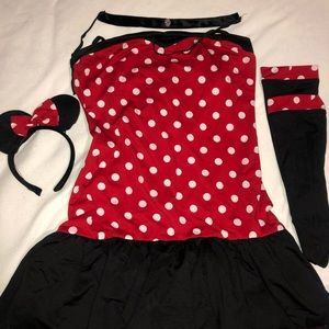 Halloween! Sexy Minnie Mouse Costume ❤️
